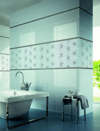 Ceramic tiles for bathroom