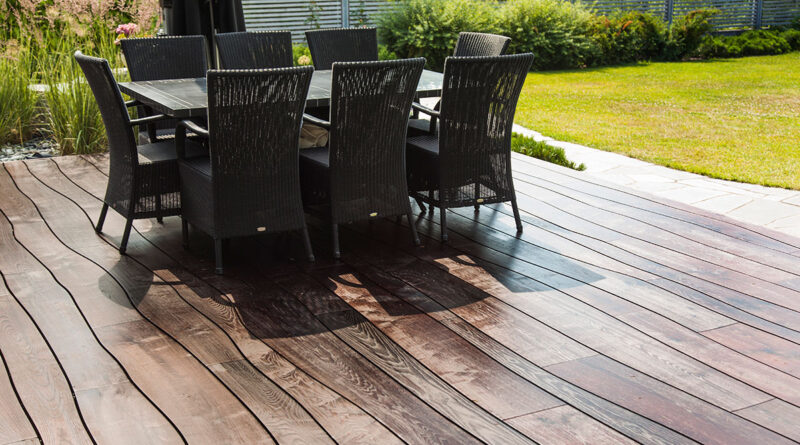 outdoor wooden floors
