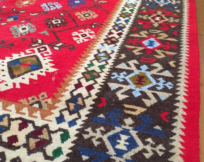 Pirot kilim rug