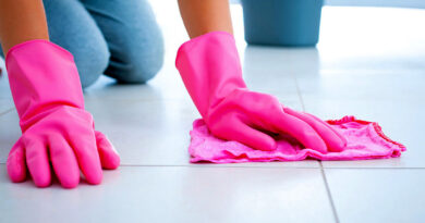 Cleaning and maintaining of ceramic tiles