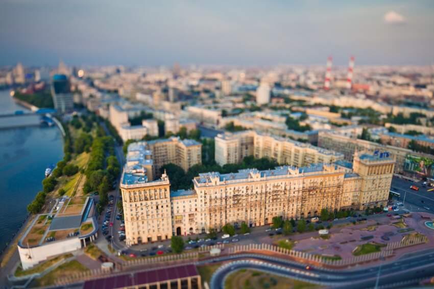 Moskva je u centru istoimene, najgušće naseljene i privredno najrazvijenije oblasti
