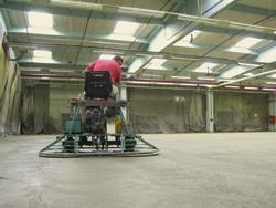 utrljavanje betonske površine