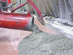 Nanošenje betona