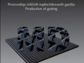 Proizvodnja čeličnih toplocinkovanih gazišta
