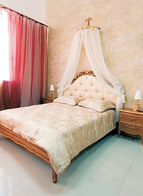 Baldahin princeziin krevet