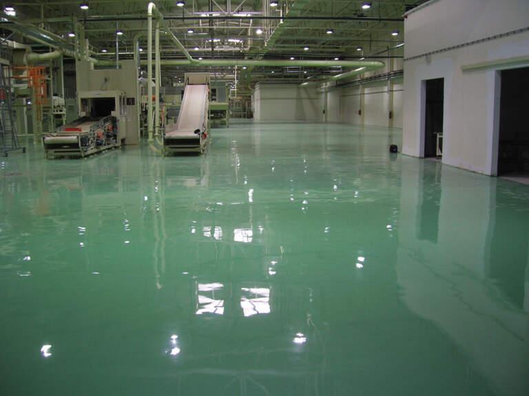 Industrijski podovi - izvođenje