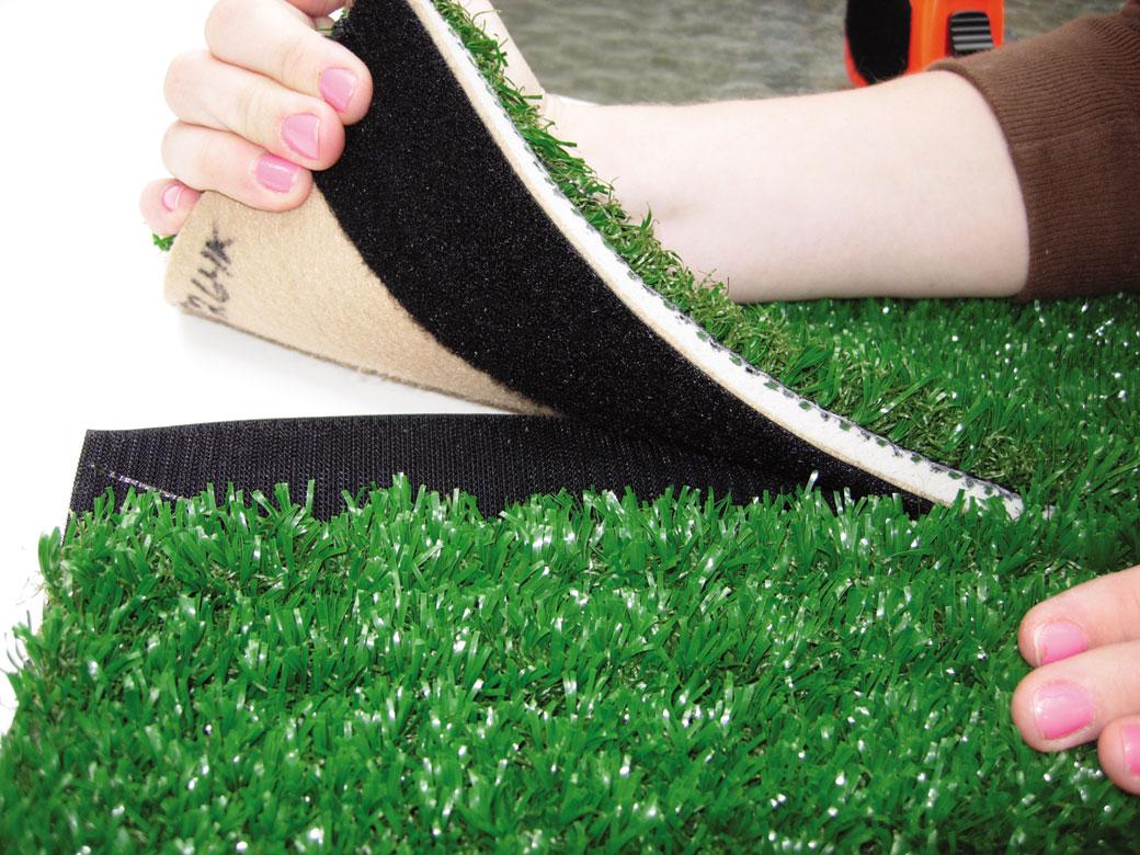 Postavljanje veštačke trave