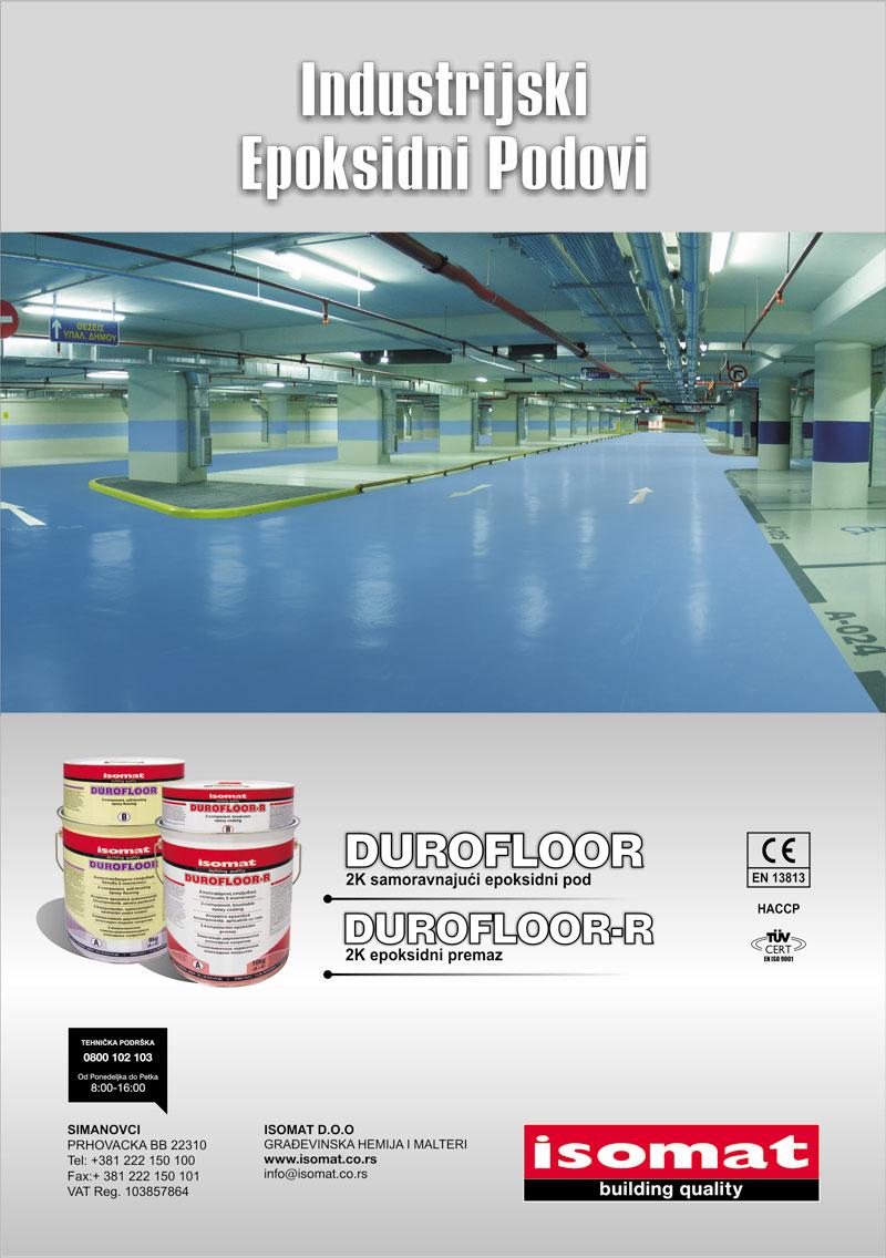 Isomat industrijski epoksidni podovi