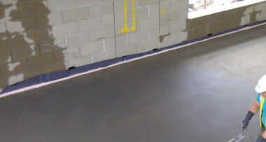 postavljanje cementne košuljice