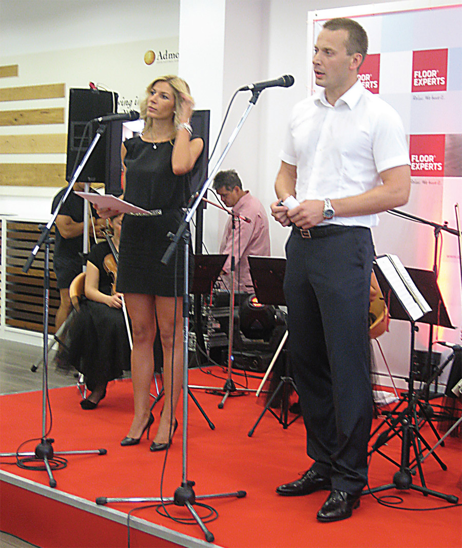Direktor firme Alpod Flooring - Aljoša Arsenović