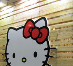 Hello Kitty na sajmu cersaie