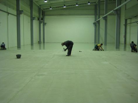 Ugradnja protivkliynog poda