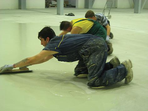 Radovi na ugradnji poda