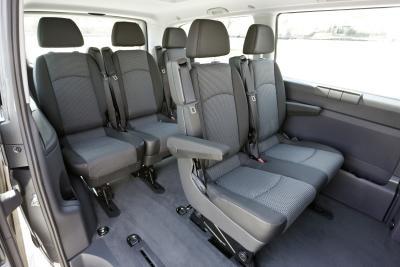 Mercedes-Benz Vito Shuttle unutrašnjost