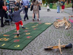 Dečiji tereni od reciklirane gume