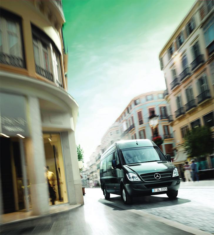 Mercedes Benz Sprinter dostavno i kombi vozilo