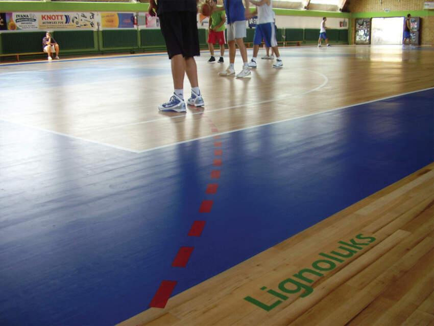 Lakiranje sportskih podova - Lignoluks