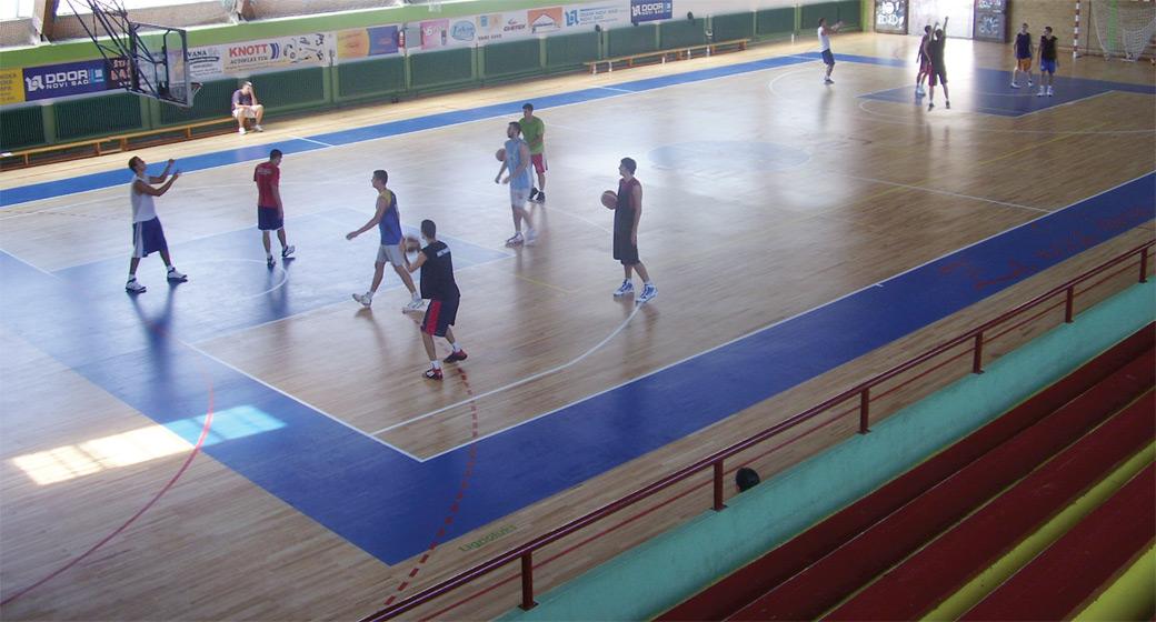 Lakiranje sportskih podova