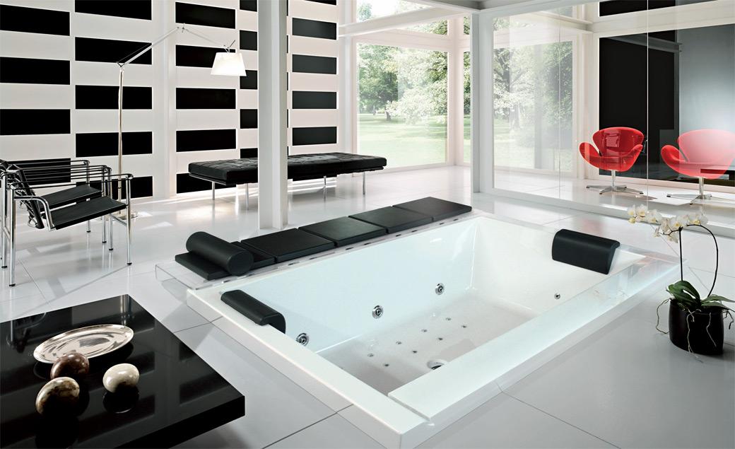 Crno belo kupatilo