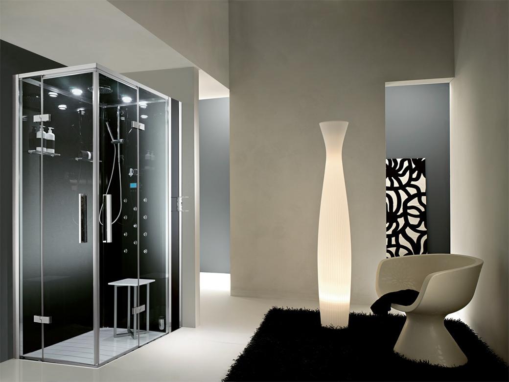 Kupatilo u crno-beloj kombinaciji - Časopis Podovi