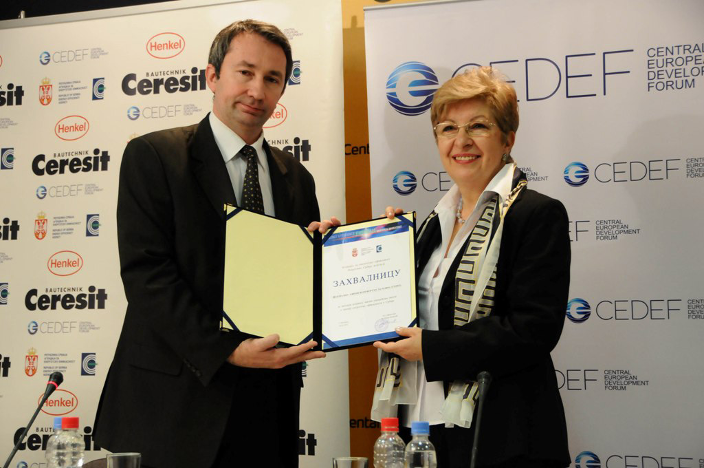 Dodela priznanja na svetskom danu energetske efikasnosti
