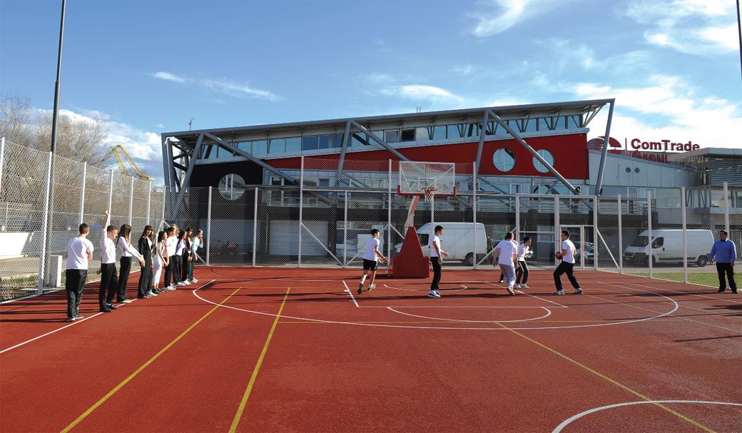 Sportski tereni Comtrade