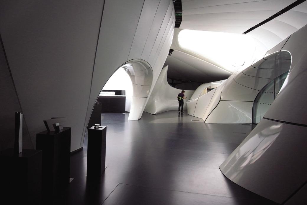 CHANEL Mobile Art, Pariz, arh. Zaha Hadid, pod Artigo UNI