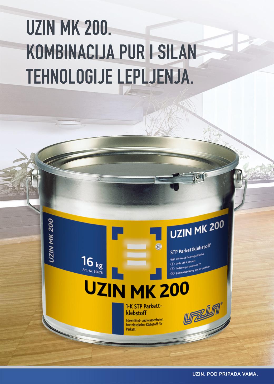 Uzin MK 200 Pur i Silan - Unihem Trading d.o.o.
