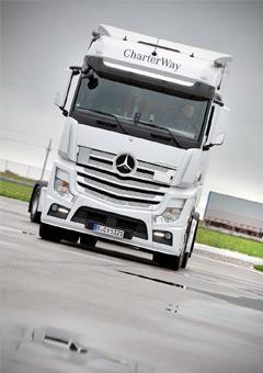 Mercedes e-cell kamioni