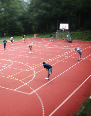 Sportski tereni od reciklirane gume