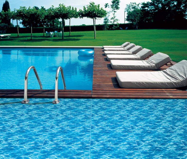Keramičke pločice postavljenje kod bazena