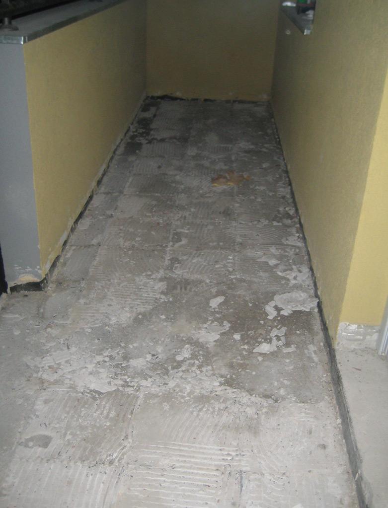 Priprema poda za postavljenje keramičkih pločica