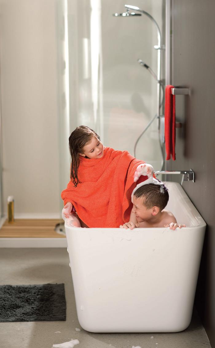 Novo i moderno dečije kupatilo