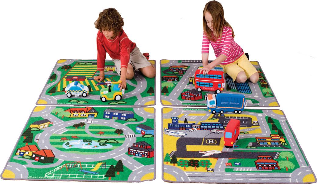 Uređenje dečije sobe  - tepih