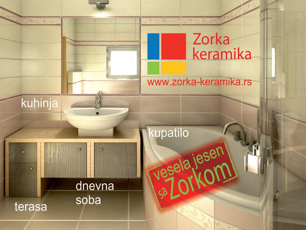 Zorka Keramika reklama