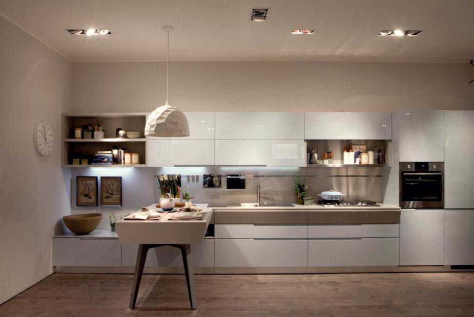 Ure enje kuhinje funkcionalna i moderna prostorija asopis podovi - Foto cucine scavolini moderne ...