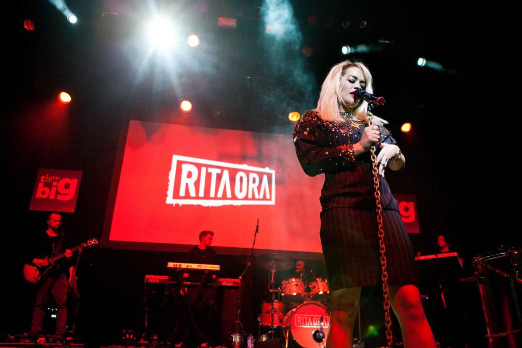 Rita Ora u Tirani