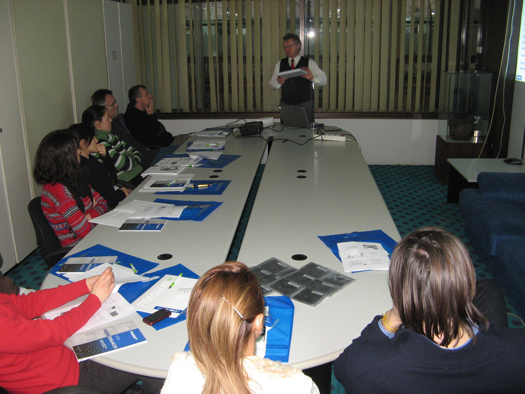 Tim Izolirka doo program stručnih prezentacija