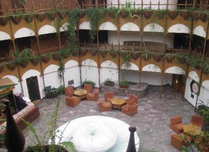 Detalj unutrašnjosti hotela Vrbak u Novom Pazaru