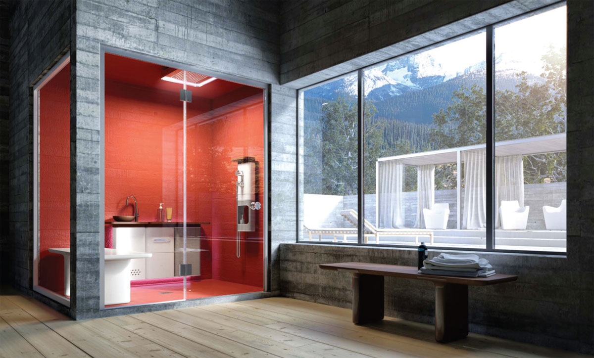 Modularni elementi za kupatilo