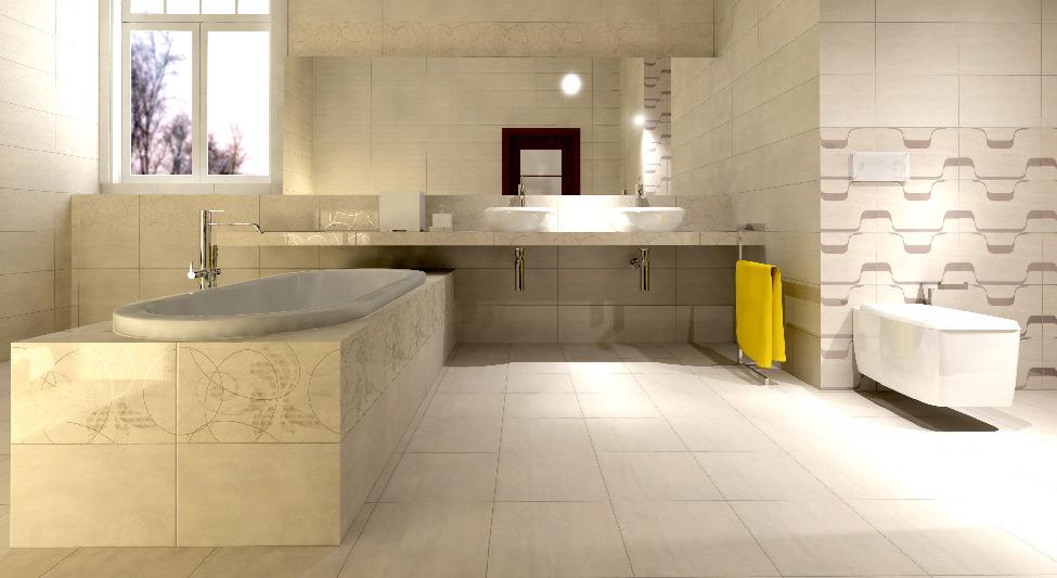 Palas - Nežni bež tonovi praćeni kompatibilnim dekoracijama, za vaše kuhinje i kupatila