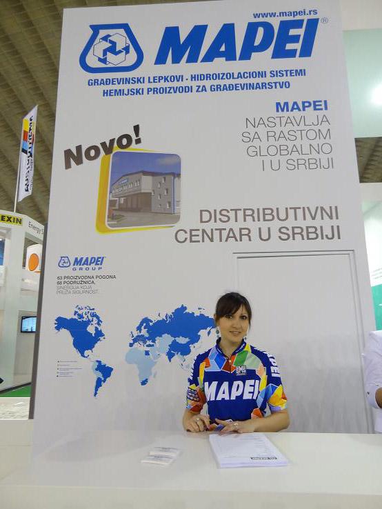 Mapei u Srbiji