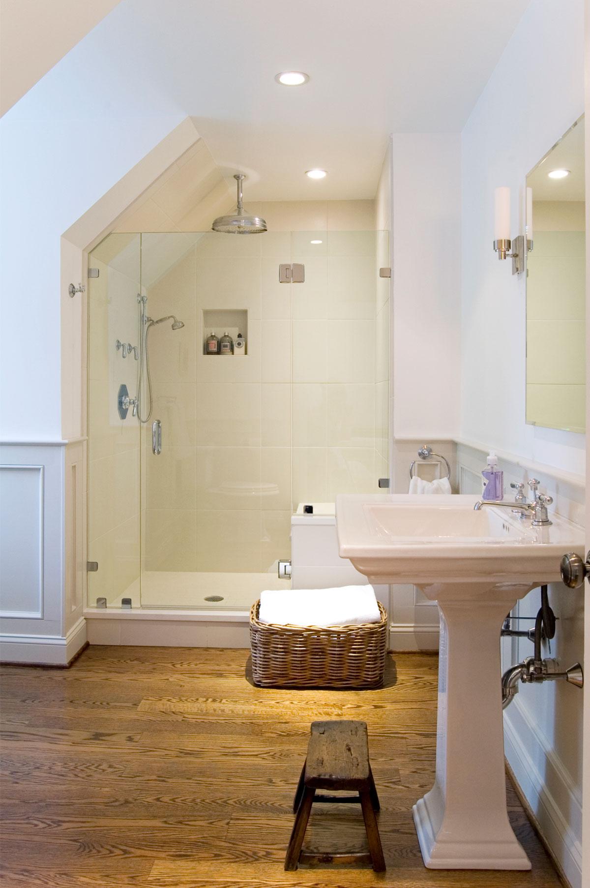 Vintage Farmhouse Floor Plans Toalet U Potkrovlju Časopis Podovi