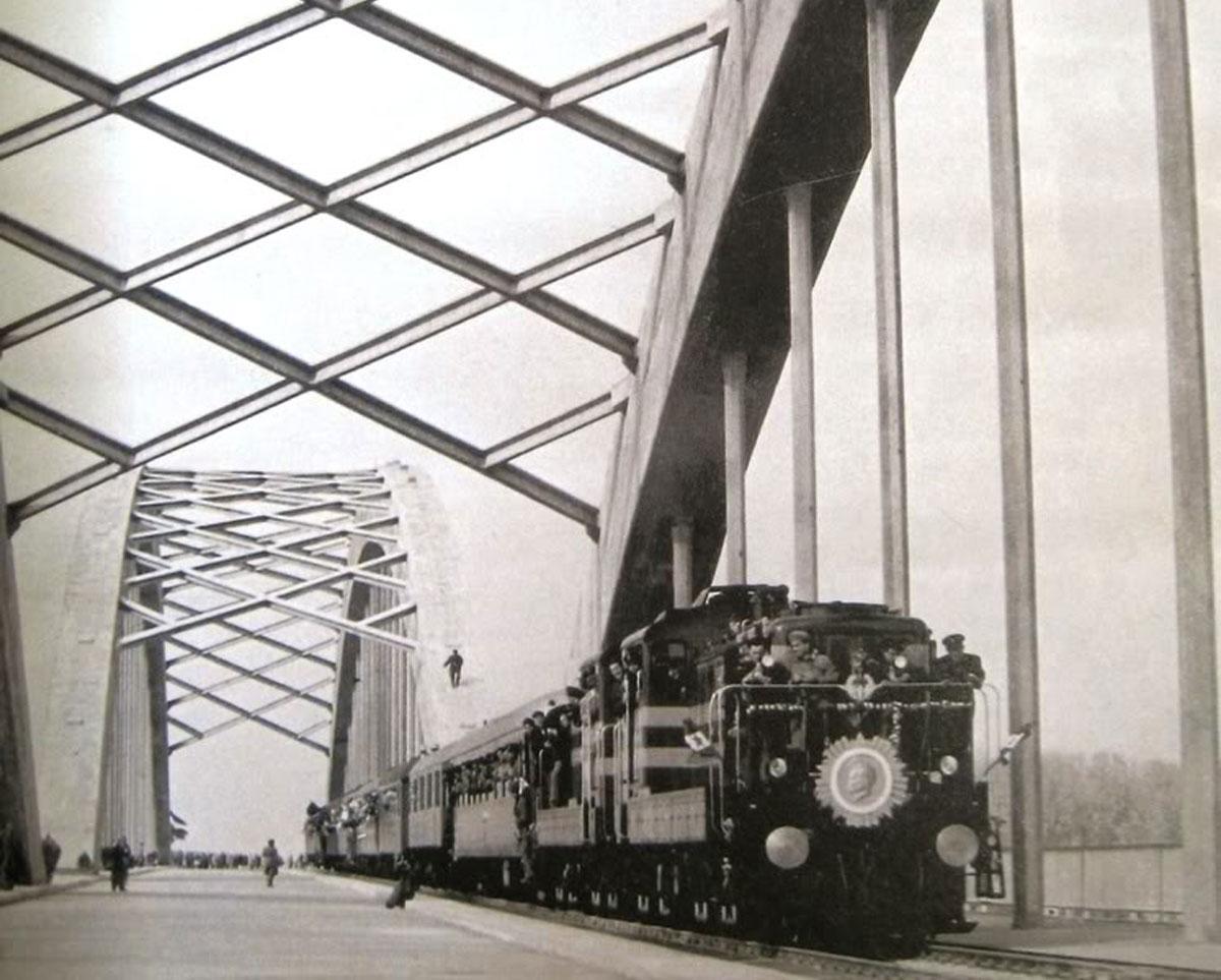 Nekadašnji izgled Žeželjevog mosta