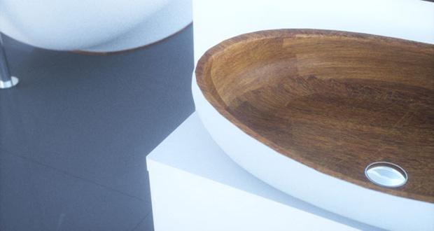 Kashani drveni lavabo