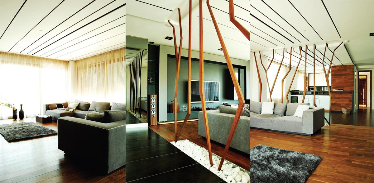 Grane su element dizajniran za privatni stan