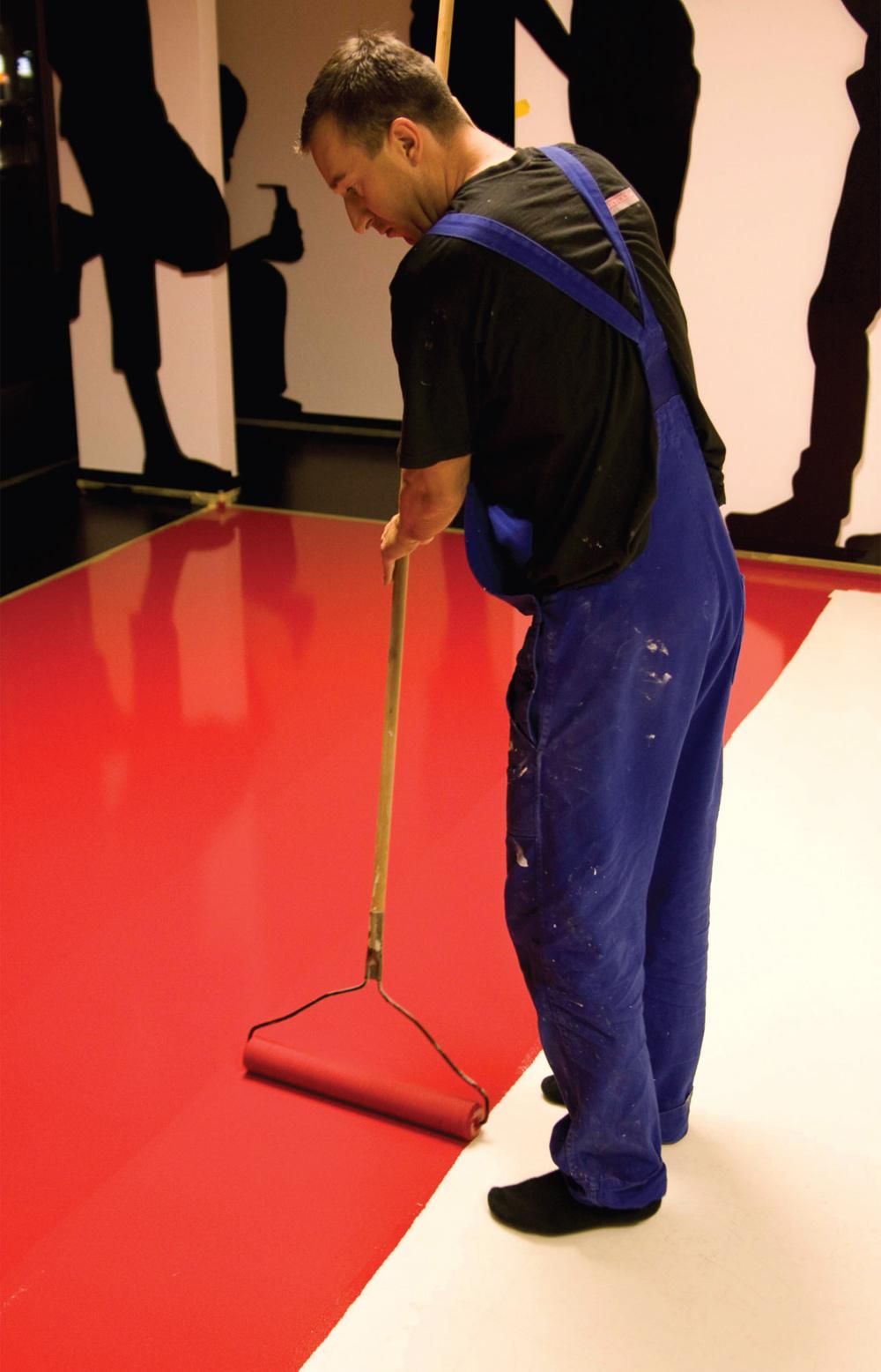 Najčešće se upotrebljavaju podovi na bazi epoksidne i poliuretanske smole