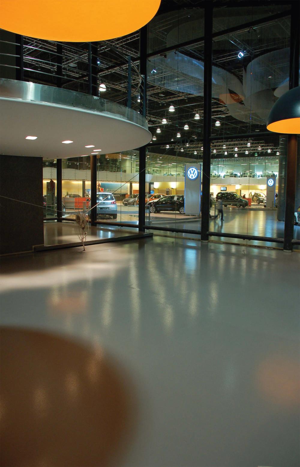 Poliuretanski podovi se primenjuju u širokom spektru javnih objekata