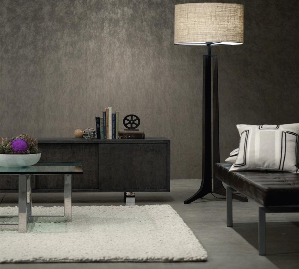 Prostorije sa tamnim podovima mogu delovati klasično ili moderno