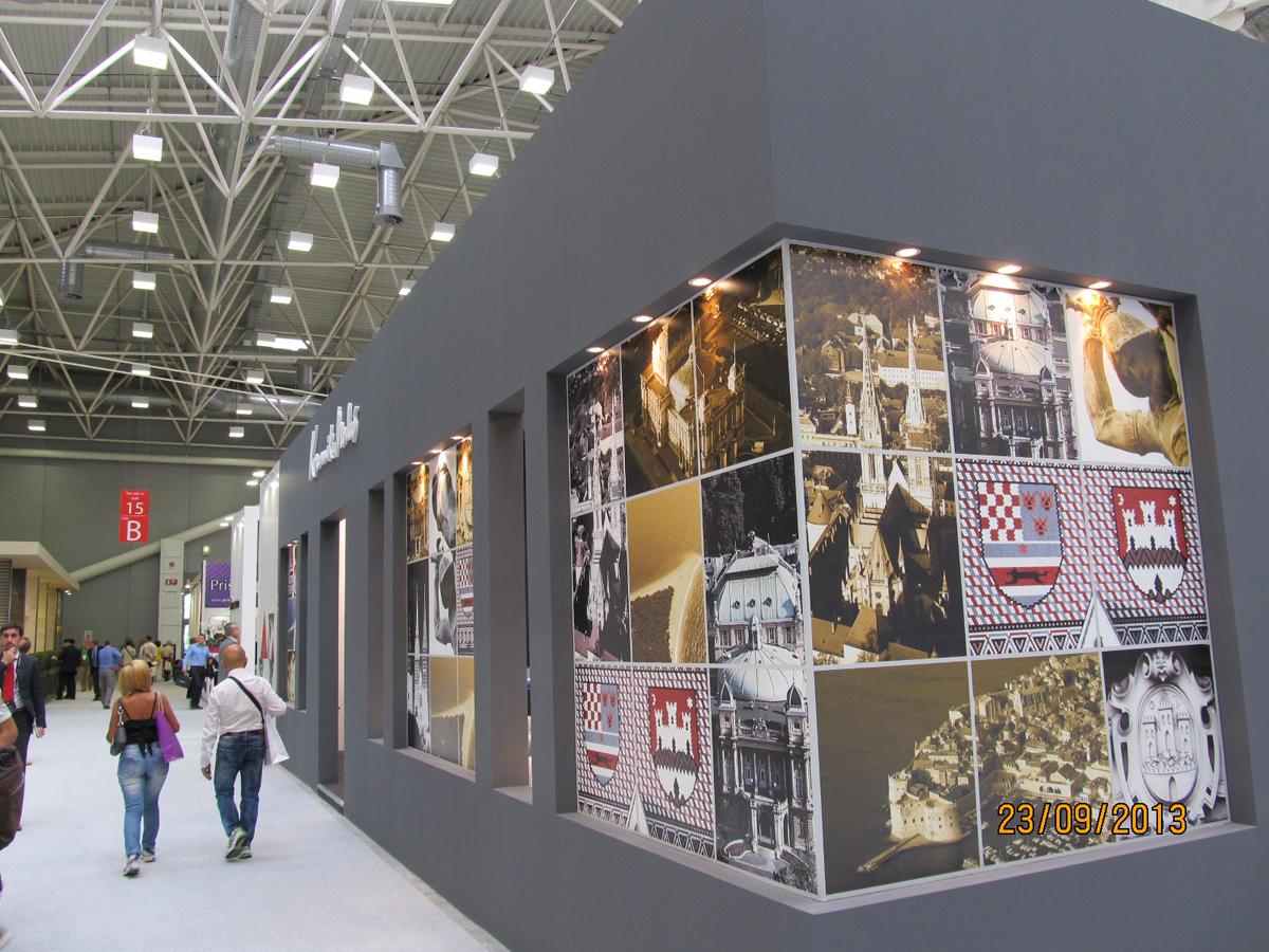 Štand keramike Modus Cersaie 2013